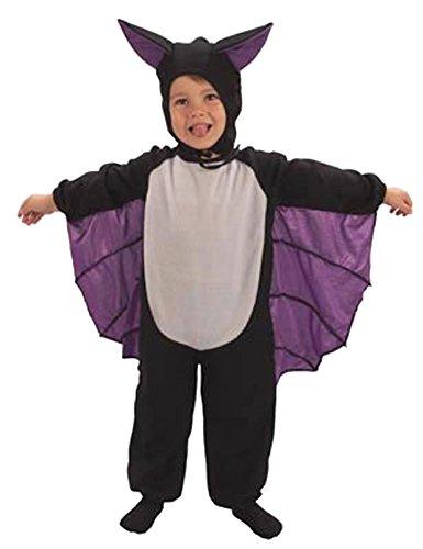 Toddler cute bat suit halloween fancy dress costume 2-3 years (disfraz)