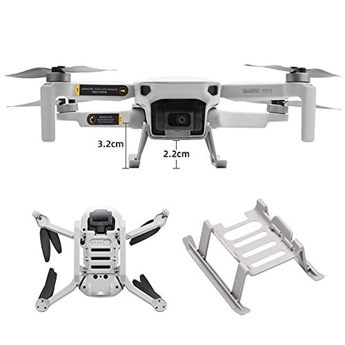 DJFEI Mavic Mini 2 Erweiterte Fahrwerk Landefüße, Faltbar Extended Landing Gear für DJI Mini 2 Drone, Schützt Gimbal und Unterboden, Garantiert Sanftes Landen