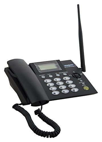 Ichiban CCNJTG21G001 GSM Fixed Wireless Landline Phone JT-G (Black)