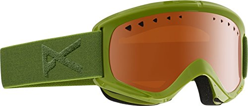 Anon Herren Snowboardbrille Helix Non Mirror, grasshole/amber, One Size, 10760101355