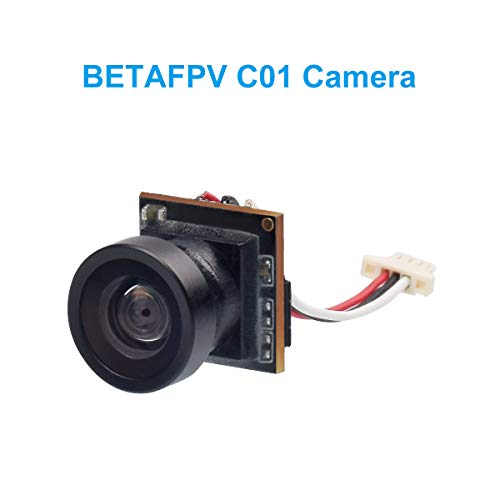 BETAFPV C01 Micro FPV Camera 1/4'' CMOS 800TVL 2.1mm Lens NTSC FOV 160 Degree with Global WDR for Micro Whoop Drone Tiny Whoop Quadcopter