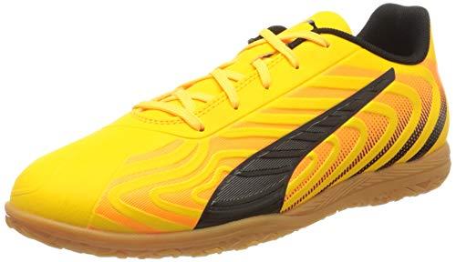 PUMA Unisex One 20.4 It Jr Botas de fútbol, Gelb (Ultra Yellow Black-Orange Alert-Gum), 36 EU