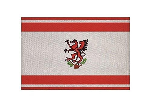 U24 Aufnäher Greifswald Fahne Flagge Aufbügler Patch 9 x 6 cm