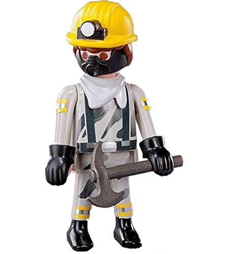 Playmobil 9241 Figures Serie 11 Mine Worker - New in Open Package