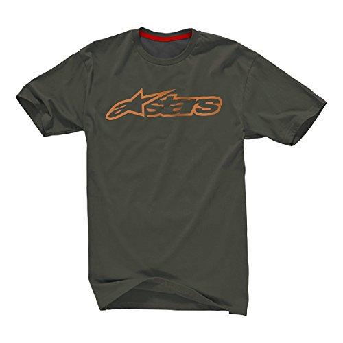 Alpinestars Blaze 2 T-Shirt Militaire Vert Ocre Taille S
