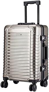 Luggage Box Fashion Horizontal Strip 24Inch Trolley Case Universal Wheel Travel Suitcasesuitcase,C,24inch