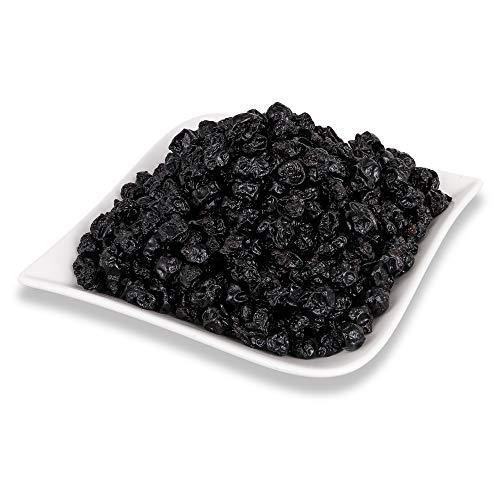 Johannisbeeren schwarz | Trockenfrüchte Cassis 100% Frucht| Rohkost (800g) | PREMIUM Trockenobst | Vegan für Müsli oder zum Naschen |Ungeschwefelt