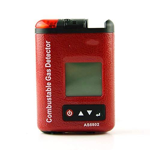 Suministros de Oficina Accesorios Automotriz Detector de Fugas de Gas inflamable Detector de Gas Natural Alarma Analizador de Gas Puerto de Gasolina Ubicación de Gas inflamable 100% LEL