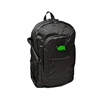 Cali Crusher 100% Smell Proof Backpack w/Combo Lock  Black/Green