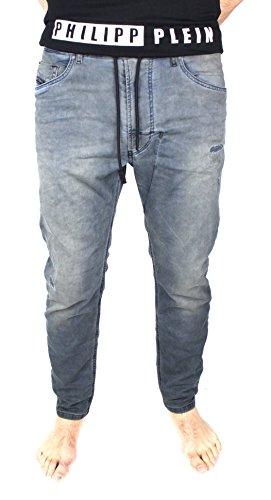 Diesel Herren Jeans Hose NARROT - NE Jogg Jeans Mens Sweat Pants 0856Z Stretch (W32)