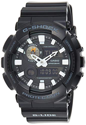 Casio Men's G-Shock GAX100B-1A Black Plastic Quartz Sport Watch