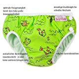 ImseVimse, Badehose für Babys, Schwimmwindel S -6-8kg Grüne Fische - 3