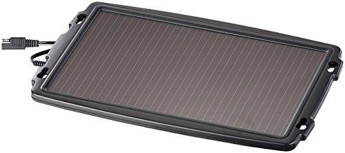 REVOLT Solar Batterieladegerät: Solar-Ladegerät für Auto-Batterien, 12 Volt, 2,4 Watt (Solar Ladegerät 12V)