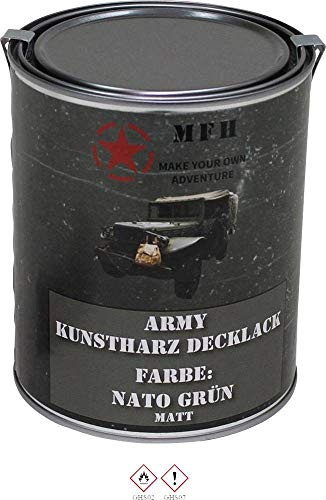 MFH 40357 Farbdose Army NATO grün NATO-Grün 1l