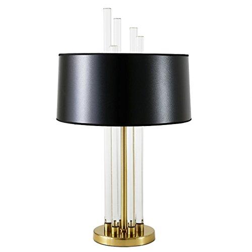 Lámparas de Escritorio Lámparas de Mesa y Mesilla Lámpara cristalina de la manera, lámpara del dormitorio de la lámpara del regalo, lámpara casera, lámpara cristalina del interruptor del botón Ilumina