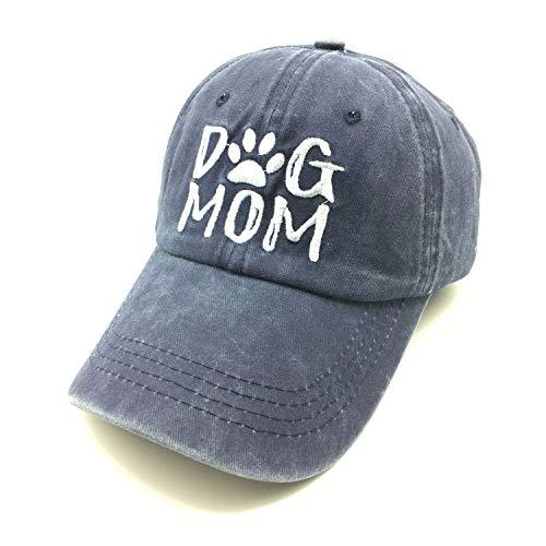 Waldeal Women's Adjustable Embroidered Dog Mom Hat Vintage Washed Dad...