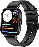ANSUNG Smartwatch, 1,78'' Touch Schermo Orologio Fitness Uomo Donna Activity Tracker, Bluetooth Chiamata, Cardiofrequenzimetro da Polso,Impermeabile IP68,Notifiche Messaggi per Android iOS(Nero)