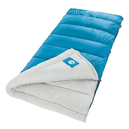 Coleman Otoño Glen 30 Saco de Dormir Regular, Color Azul