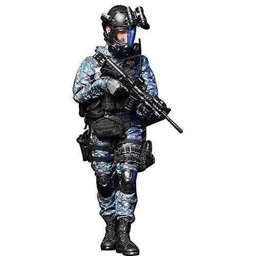 Batop 1/6 Soldat Modell, 12 Zoll US Navy Soldat Actionfigur Modell Spielzeug Figuren Militär Soldat Modell