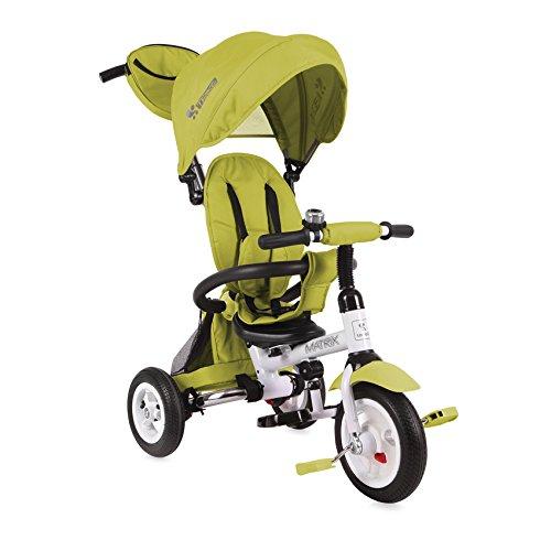 Lorelli 10050320007 driewieler voor baby's en kinderen, opblaasbare wielen