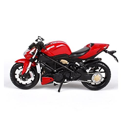 MHDTN El Maquetas Coche Motocross Fantastico Mezclado Original 1:18 para Ducati Varios Modelos Motocicleta De Aleación De Simulación Colección Regalo Coche De Juguete Regalos Juegos Mas Vendidos