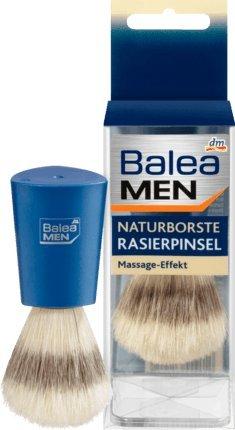 Balea MEN Rasierpinsel Naturborste, 1 Stück. Deutsches Produkt