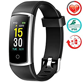 FITFORT Fitness Tracker with Blood Pressure HR Monitor &#821...
