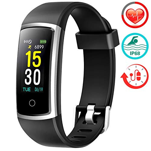Buy Cheap Fitness Tracker With Blood Pressure HR Monitor - 2019 Upgraded FITFORT Activity Tracker Wa...