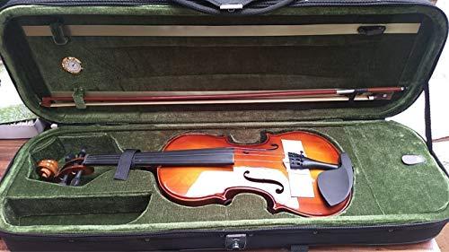 HVTKL De populariteit van witte dennenhout student viool met esdoorn Qin Hij buigt
