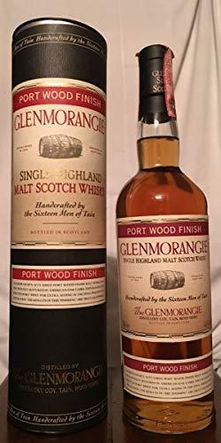 Glenmorangie Port Wood Finish 70cl con estuche (tubo)