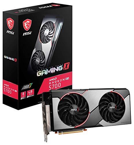 MSI Gaming Radeon Rx 5700 256-bit 8GB GDRR6 HDMI/DP HDCP Unterstützung DirectX 12 Dual Fan VR Ready Navi Architecture OC Grafikkarte (RX 5700 Gaming X)