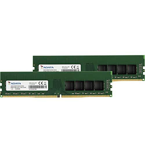 ADATA デスクトップPC用 メモリ PC4-25600 DDR4-3200MHz 288Pin 32GB × 2枚 永久保証 AD4U3200732G22-D