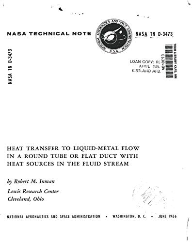 Heat transfer to liquid-metal flow in a round tube or flat duct with heat sources in the fluid stream (English Edition)