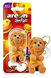 AREON Smile Deodorante Auto Mela e Cannella Diavolo Rosso Divertente da Appendere Specchietto Retrovisore Simpatico 3D (Confezione da 1)