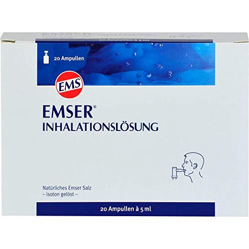 Emser Salz zur Verwendung mit der Emser Nasendusche - Bei Erkältung als Alternative zu Nasenspray - 20 x 5ml Ampulle