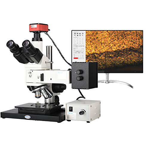 KOPPACE 50X-500X Industrial Inspection Metallurgical Microscope 4K HD 8.3 Million Pixel Camera It Can Be Measured On The Screen