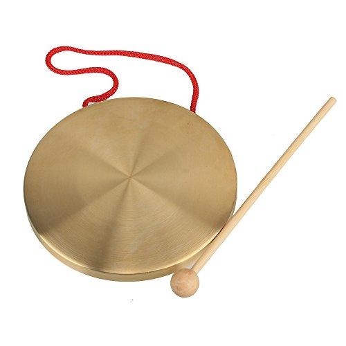 Yibuy 15,5cm latón instrumentos cobre platillos
