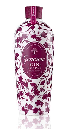 Generous PURPLE Grape Berry Gin (1 x 700 ml)