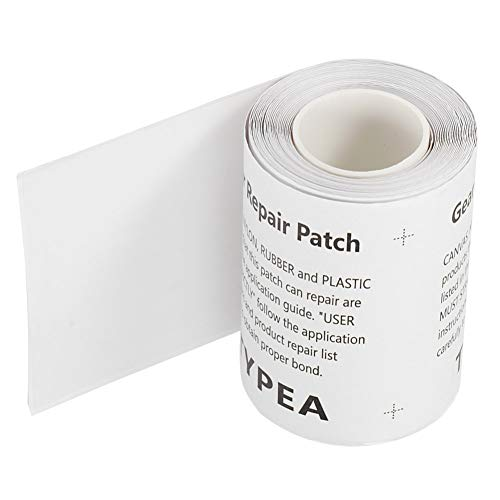 Cinta de reparación de adherencia fuerte, autoadhesivo impermeable para reparación de exteriores, para cama de aire de bote inflable