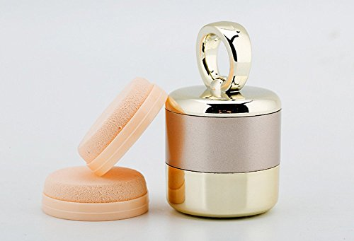 SHKY Électrique Maquillage Puff 3D Électrique Fondation Mix Puff Beauté Massage Électronique Éponge De Maquillage,Gold