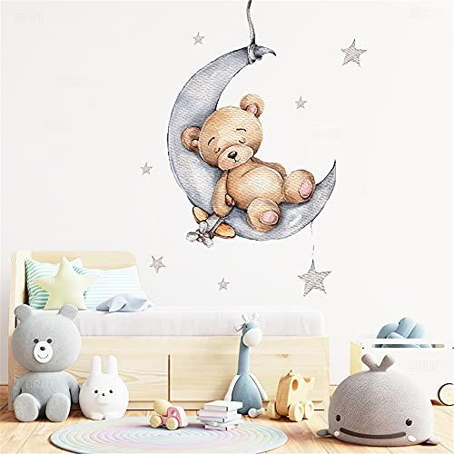 Cartoon Wandsticker für Kinderzimmer, Babyzimmer, Dekoration, Wandaufkleber, Zimmer, Innenausstattung (E)