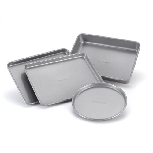 4 PC Farberware Bakeware Steel Nonstick Toaster Oven Pan Set $11.49 (43% Off)