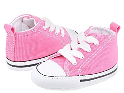 Converse Kids Chuck Taylor(r) First Star Core Crib (Infant/Toddler) (Pink) Kids Shoes