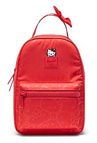 Herschel Nova Mini Rucksack, Red Hello Kitty (Rot) - 10501-03064-OS