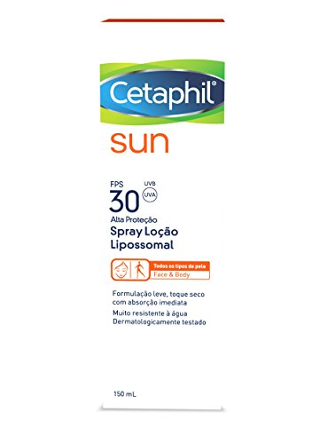 Sun FPS 30 Loção Lipossomal Spray, Cetaphil