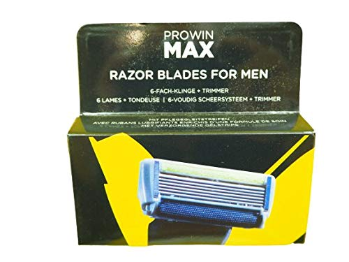PROWIN MAX RAZOR BLADES FOR MEN, 3 Stück