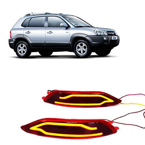 Lidauto 1 paar covers LED-achterlicht bumper achter parkeerrem reflector lamp rood mistlampen voor Hyundai Tucson
