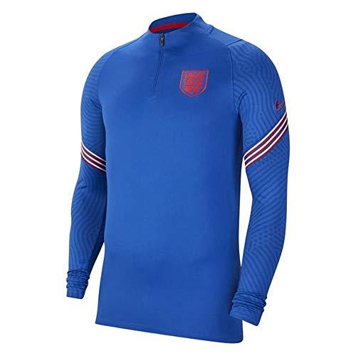 Nike 2020-2021 England Training Drill Top (Blue)