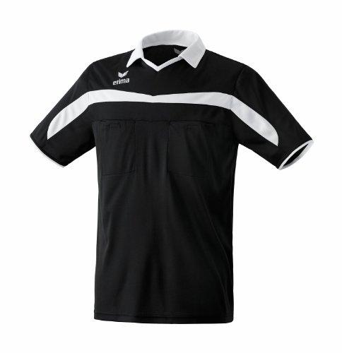 erima Schiedsrichtertrikot Valencia - Camisa, Color Negro/Blanco, Talla XL