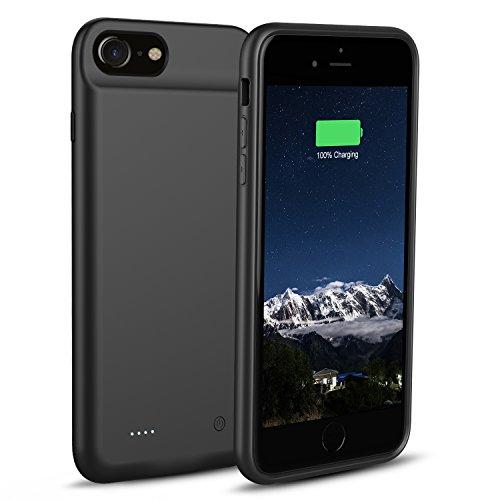 3000mAh Akku Hülle iPhone 8 / iPhone 7 / iPhone 6 / 6s - OSSKY Superdünnes Schnelles Wiederaufladen Battery Hülle